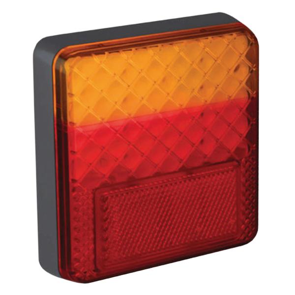 100BARE LED-Mehrkammerleuchte, Stop-/Schlusslicht/Fahrtrichtungsanzeiger, 12VDC