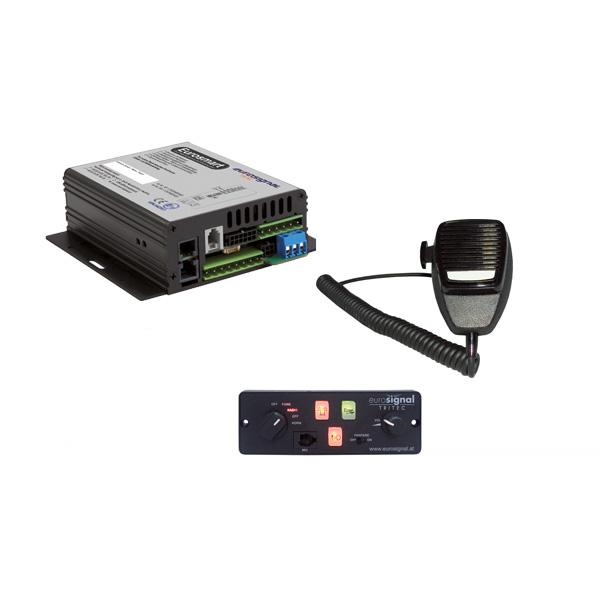 EUROSMART GEN2 Bedien-, Akustik- u. Leistungssystem, 12VDC, Version C