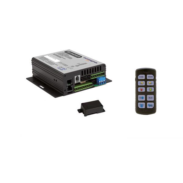 EUROSMART GEN2 Bedien-, Akustik- u. Leistungssystem, 12VDC, Version D2, Österreich