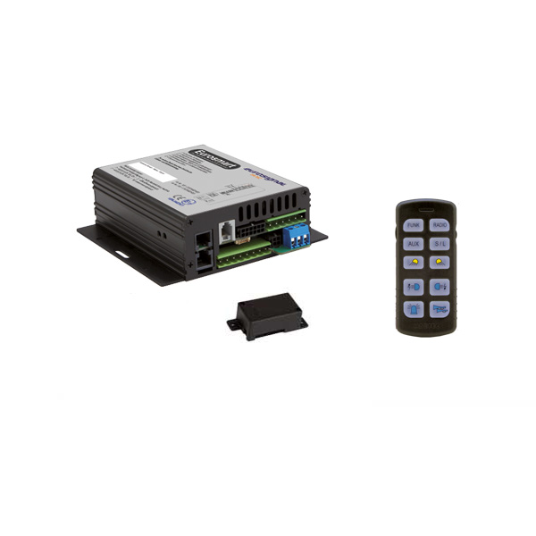 EUROSMART GEN2 Bedien-, Akustik- u. Leistungssystem, 12VDC, Version D2, Deutschland