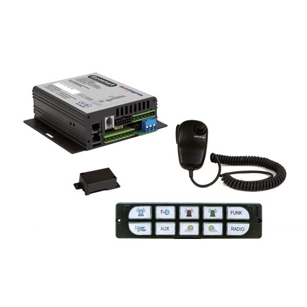 EUROSMART GEN2 Bedien-, Akustik- u. Leistungssystem, 12VDC, Version E2, Deutschland