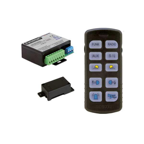 EUROSMART GEN2 Bedien- u. Leistungssystem Version D2, Deutschland, 10-30VDC