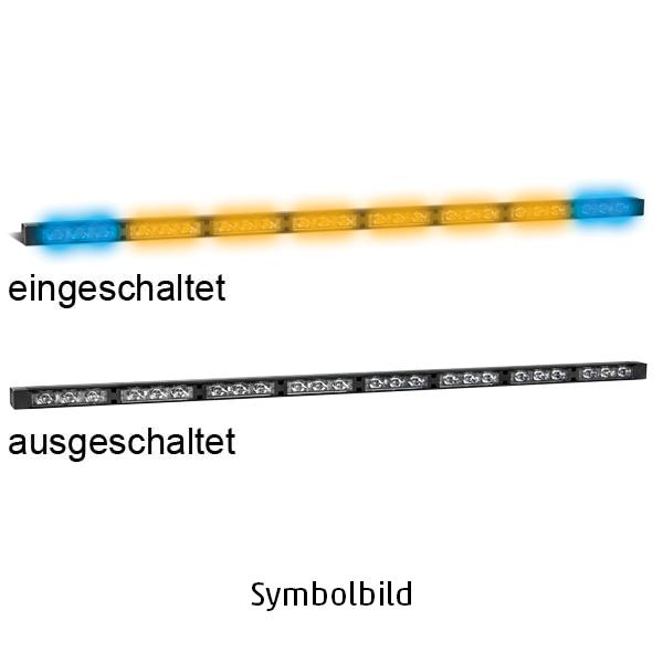 TRAFLED10-WB, L=110cm, 10-30VDC, Warnfarbe blau/gelb, 10x LED-Module, ohne Bedienteil