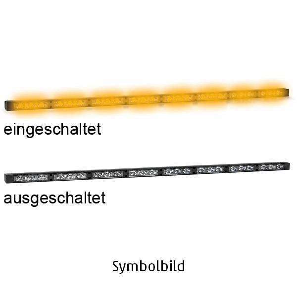 TRAFLED10, L=110cm, 10-30VDC, Warnfarbe gelb, 10x gelbe LED-Module, ohne Bedienteil