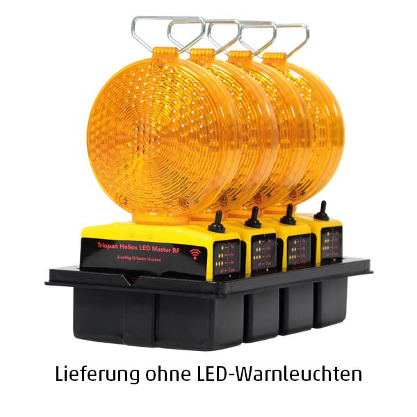Transportbox für 4 LED-Warnleuchten Helios Master