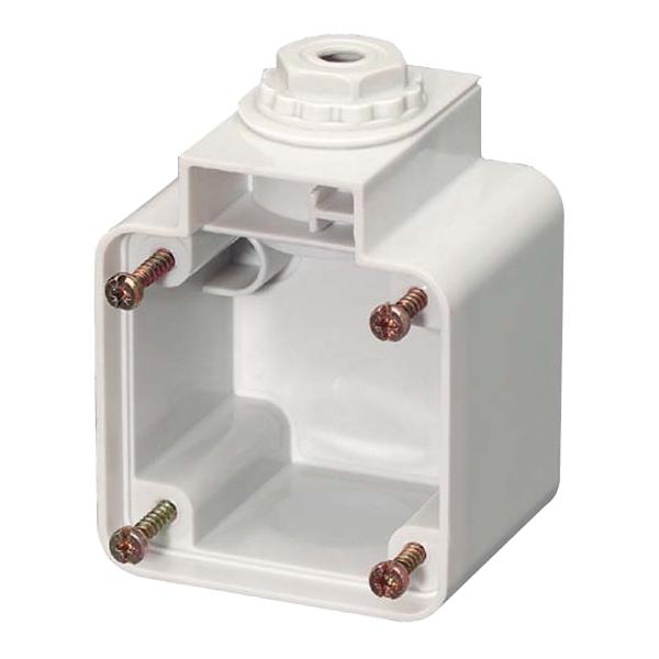 Aufbaurahmen für Schukosteckdose, kombinierbar, IP54