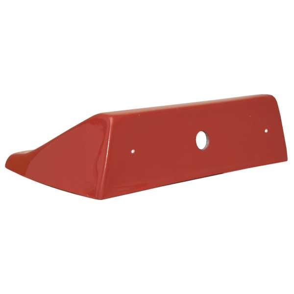 Aufbaukonsole, GFK, Farbe: rot (RAL3000), zur heckseitigen Montage am Fahrzeugdach