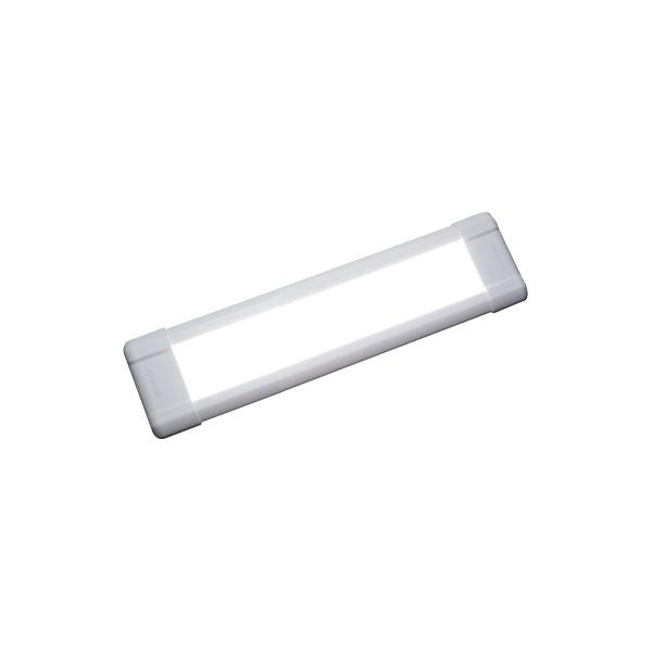 FLUX F250CW-24/2, LxBxH=307x90x10,6mm, 24VDC, 7,5W, weiß