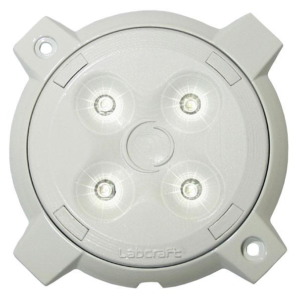 MEGALUX PD1_4-1EPIR, 12VDC, 4x 1W CREE-LEDs, 480lm, integrierter Bewegungsmelder