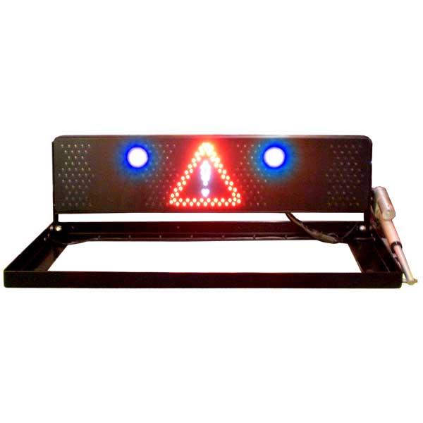 RMS 2000 MINI FUNK, Automatik, 24VDC, 2 blaue LED-Blitzer