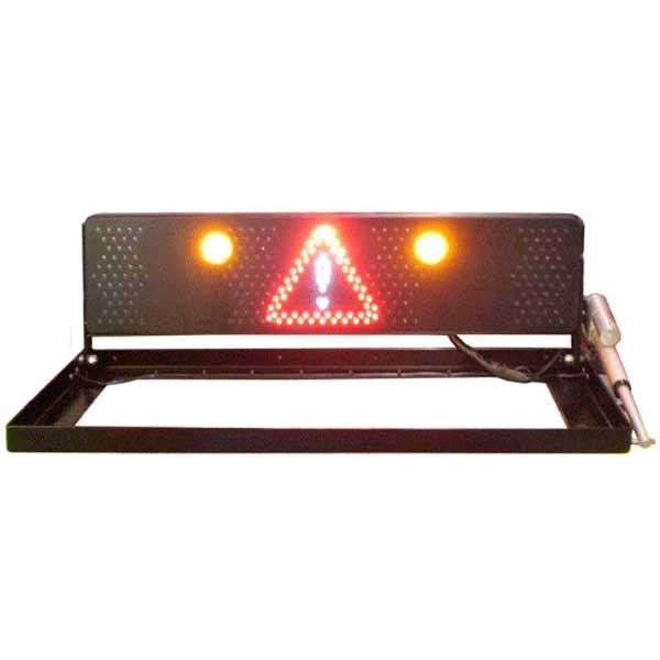 RMS 2000 MINI FUNK, Automatik, 24VDC, 2 gelbe LED-Blitzer