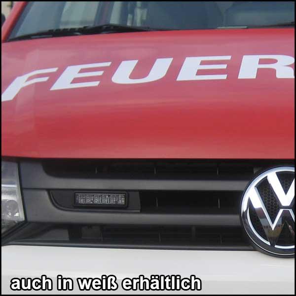 Montagerahmenset für Kühlergrill VW T5, BJ ab 2010, Farbe: schwarz